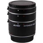 Viltrox sada mezikroužků 12/20/36 mm pro Canon EOS s přenosem clony