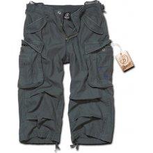 Brandit Kalhoty Industry Vintage 3/4 antracitové