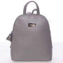 21817786b84 David Jones Jordane moderní městský dámský batůžek šedý