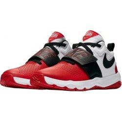 495fe933c6c41 Nike Basketbal Dětské Boys' Team Hustle D 8 Basketball Shoe 881941 001  Červená