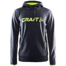 Craft Logo Hood šedá/zelená