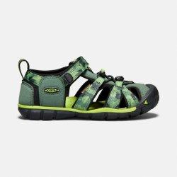 Dětská bota Keen Seacamp II CNX JR duck green greenery ca98d0c379