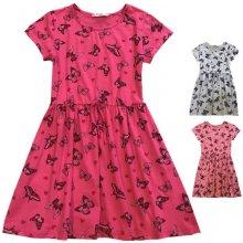 f7c724f4d027 Dívčí šaty-KUGO K624 šedá