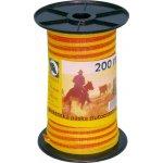 El. páska žlutooranžová 10mm 200m