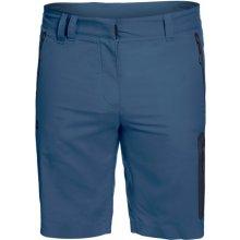 Turistické šortky Jack Wolfskin Activate Track Modrá