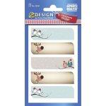 Avery Zweckform Z-design samolepící štítky na vánoční dárky 52816