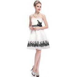 35c41d147c3 krátké svatební společenské šaty koktejlky pro nevěstu družičku Bílé ...