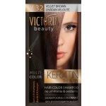 Victoria Beauty Keratin Therapy Tónovací šampón na vlasy V 32, Velvet brown, 4-8 umytí