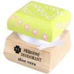 RaE Přírodní krémový deodorant Aloe Vera s ručně malovaným víčkem 15 ml