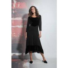 Deha dlouhé maxi šaty černá adfceab2ff