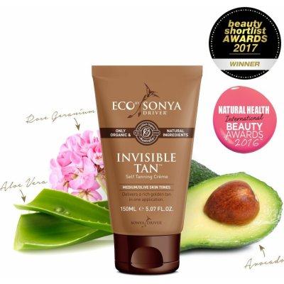 Eco by Sonya - 100% Přírodní samoopalovací krém - Invisible Tan 150ml