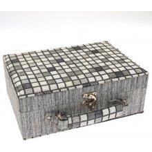 JKBox Cube Grey SP289-A3 šperkovnice