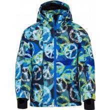 Kilpi chlapecká lyžařská bunda Semeru-Jb FJ0001KIWHT bílá