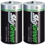 Baterie SKY Green D 2 ks