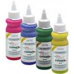 Vellie Fast Colours - barevný inkoust hnědý 80 ml