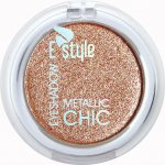 E style Eye Shadow Metallic Chic Refil 5 Champagne 6 g