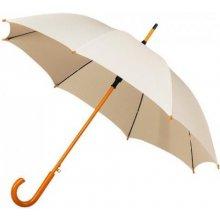 Dámský holový deštník AUTOMATIC smetanový