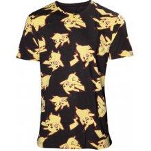 CurePink Pánské tričko Pokémon: Pikachu