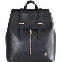 b4b90d11af Bright Batoh kabelka dámská 2v1 kožený černý
