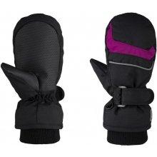 Loap Rafko dětské palčáky černá   růžová 12e996fe36