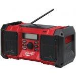 Aku stavební rádio Milwaukee M18 JSR-0 DAB+