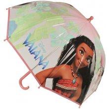 CERDA Průhledný deštník Odvážná Vaiana průměr 71 cm