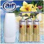 Air osvěžovač spray strojek + Seychelles Vanilla náhradní náplň 3 x 15 ml