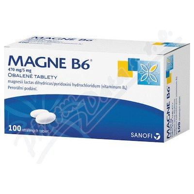 Magne B6 470mg/5mg tbl.obd. 100