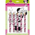 Minnie Maxi pastelky omalovánky