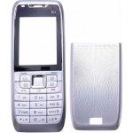 Kryt Nokia E51 stříbrný