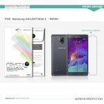 Ochranná folie Nillkin pro Samsung Galaxy Note 4