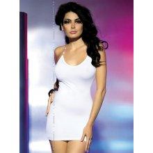 Obsessive Oxalis Mini šaty bílé