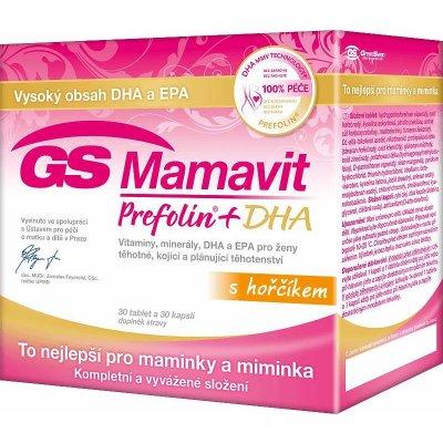 GS Mamavit Prefolin+DHA+EPA 30+30 2016