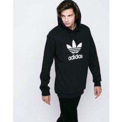 Pánská mikina Adidas Originals TREFOIL HOODIE Černá a70214b8b50
