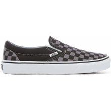 Vans boty Classic Slip-On - black/pewter checkerboard