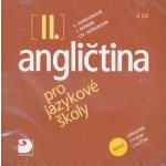Angličtina pro jazykové školy II. - Nová - 2CD - Nangonová,Peprník