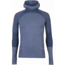 Adidas Climaheat s dlouhým rukávem s kapucou košile, Raw Steel
