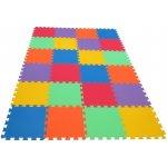 Malý Génius 201054 Pěnový koberec MAXI 24 mix 6 barev 8mm