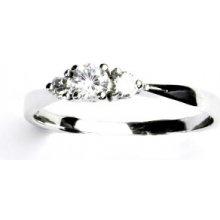 db6344cf2 Čištín zlatý prsten prstýnek s čirými zirkony zásnubní, VR 330 12961