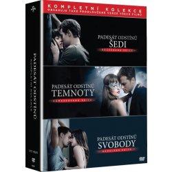 DVD Padesát odstínů - Kompletní kolekce