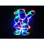 Noel Světelná dekorace do okna Santa