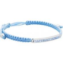 Brosway Světle modrý náramek Starlet Macramè BSM15