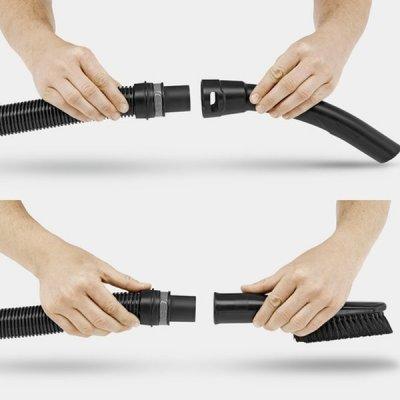 Praktická odnímatelná a ergonomická rukojeť