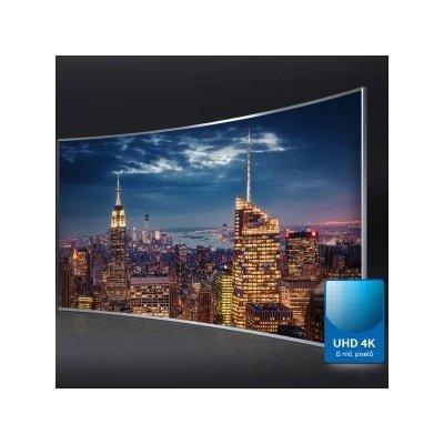 Realistické a živé barvy na Ultra HD obrazovce