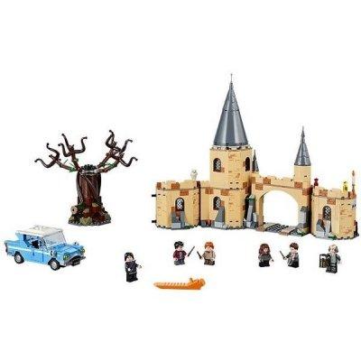 Rozlehlý bradavický hrad