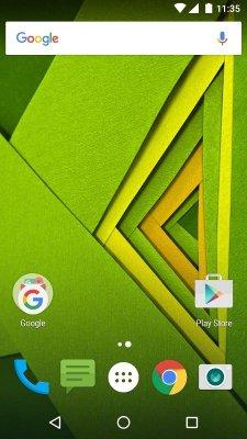 Android bez poskvrnky