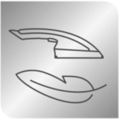 Vylepšená snadnost žehlení s novou žehlicí hlavicí