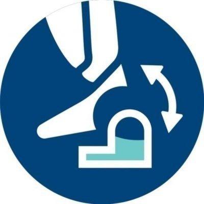Flexibilní střídání mokrého a suchého čištění