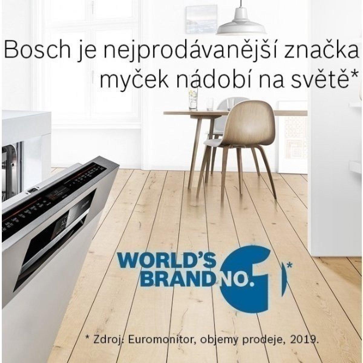 Bosch patří mezi nejprodávanější značky myček nádobí na světě