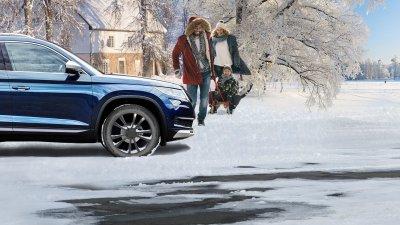 Bezpečná trakce na sněhu